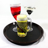 술잔 세트 (음주운전의경고)