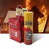 캐릭터 화재 대피함 세트1 (화재대피용 구조손수건 10매 + 스프레이 소화기)